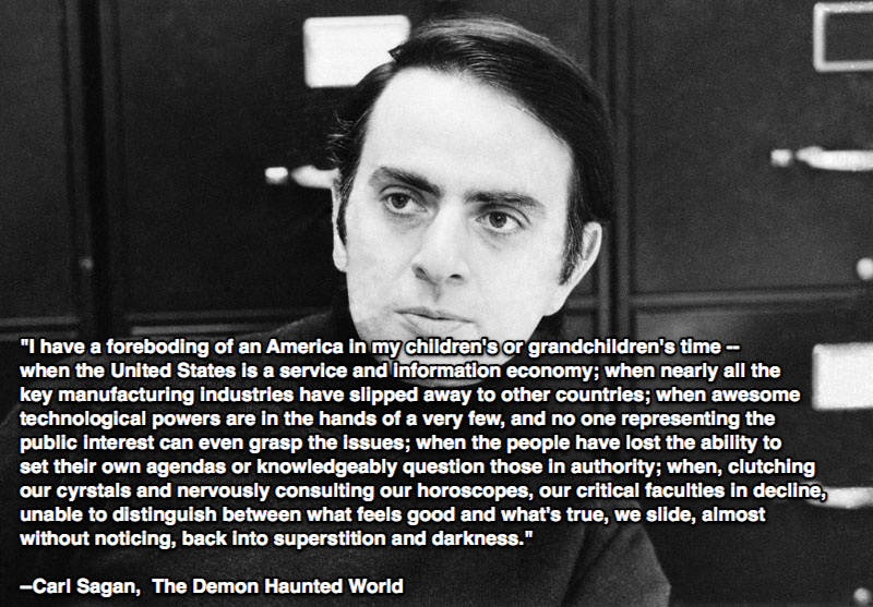 critical analysis of carl sagan's the 2017-3-24  carl edward sagan (november 9, 1934 – december 20, 1996) was an american astronomer, astrochemist, author, and popularizer of astronomy, astrophysics and other natural sciences, and critic of.